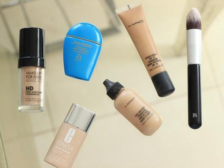 MY TOP 5 HIGH-END FOUNDATIONS 2016