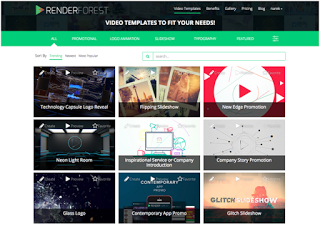 Renderforest Review: Powerful All-In-One Online Video Creation Tool