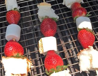 For Mom: Strawberry Shortcake on the Grill