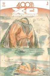 4001 A.D.: X-O Manowar #1 Cover - Kindt Design Variant
