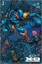 4001 A.D.: X-O Manowar #1 Cover - Lee Megacover Variant