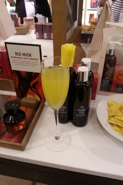 The Body Shop Birmingham Cocktails and Facials Event