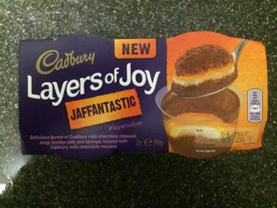 Today's Review: Cadbury Layers Of Joy Jaffantastic
