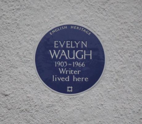 #plaque366 Evelyn Waugh