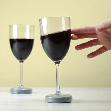 Untippable Wine Glass