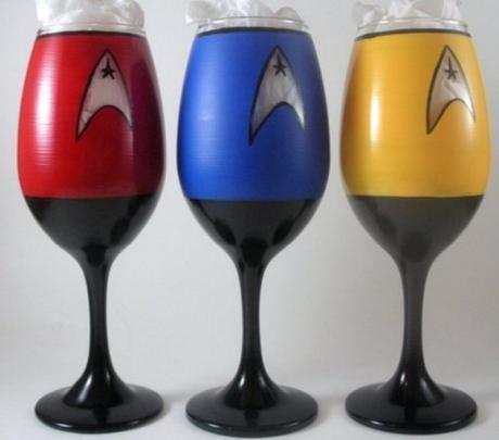 Star Trek Wine Glass