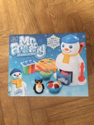 Mr Frosty returns