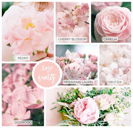 Spring Pantone Color Inspired Flowers