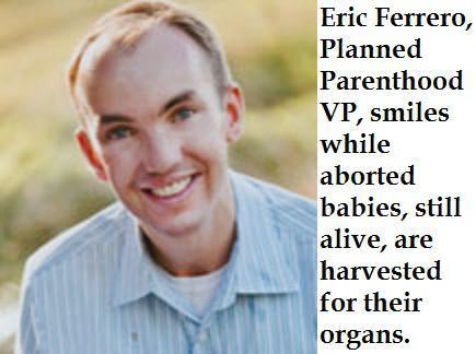 Eric Ferrero, Planned Parenthood VP