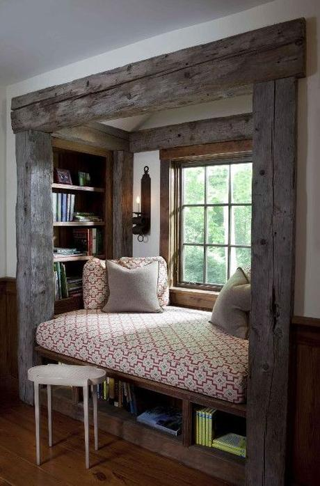 Reading nooks perfect for a cloudy day