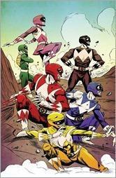 Mighty Morphin Power Rangers #3 Cover C - Greene Variant