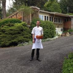 Roadside Forager. | Willows Inn on Lummi Island.