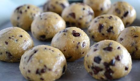 Paleo Dessert Recipes Raw Cookie Dough Featured Image