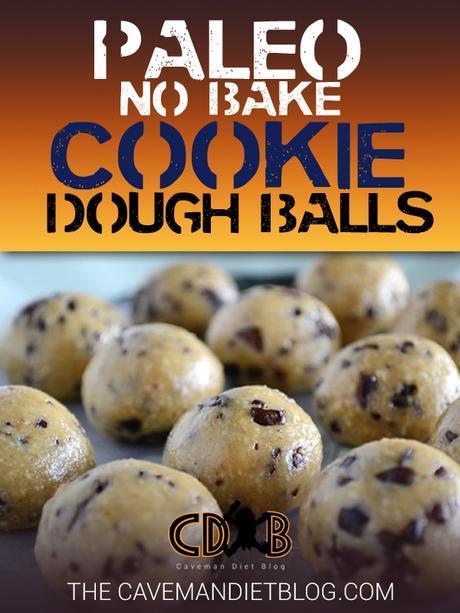 Paleo Dessert Recipes Raw Cookie Dough Main Image