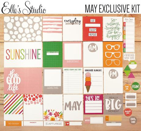 Elle's Studio | May Kit & Projects