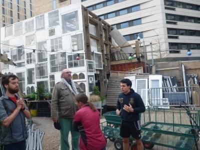 The Skip Garden, London