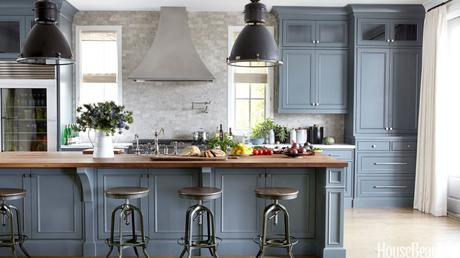 Could you handle these colorful kitchens?