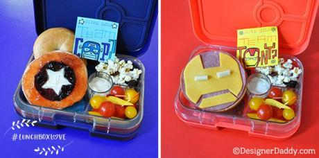 How To Make Captain America: Civil War Bento Lunches for Your Little Avengers