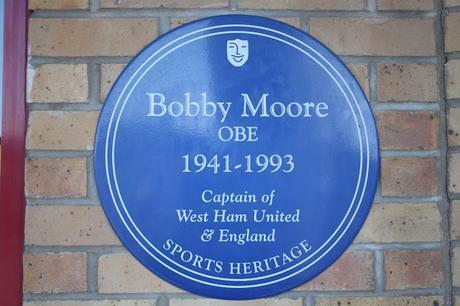 #plaque366 Bobby Moore #FarewellBoleyn