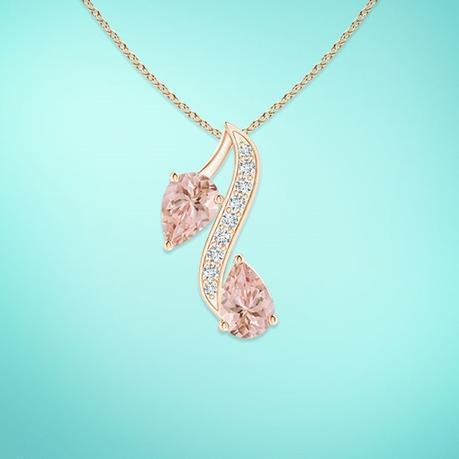 Morganite-Pendant-Necklace