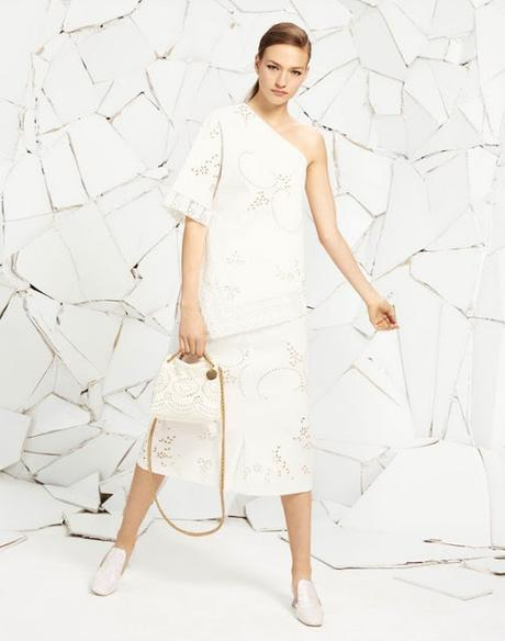 Style inspiration to wear white on white this summer.