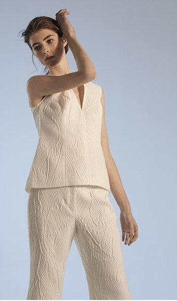 Style inspiratyion to wear white on white this summer.