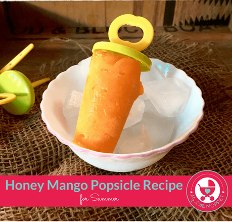 Honey Mango Popsicle Recipe for Summer