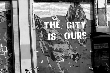 The City is Ours bw