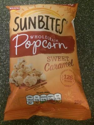 Today's Review: Walkers Sun Bites Sweet Caramel Popcorn