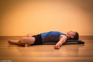 Featured Pose: Reclined Cobbler's Pose (Supta Baddha Konasana)