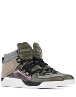 High's The Limit: Dolce Gabbana High Top Sneakers
