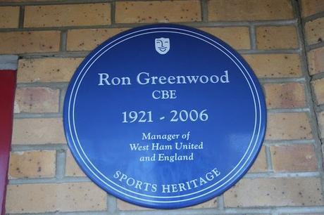 #plaque366 Ron Greenwood