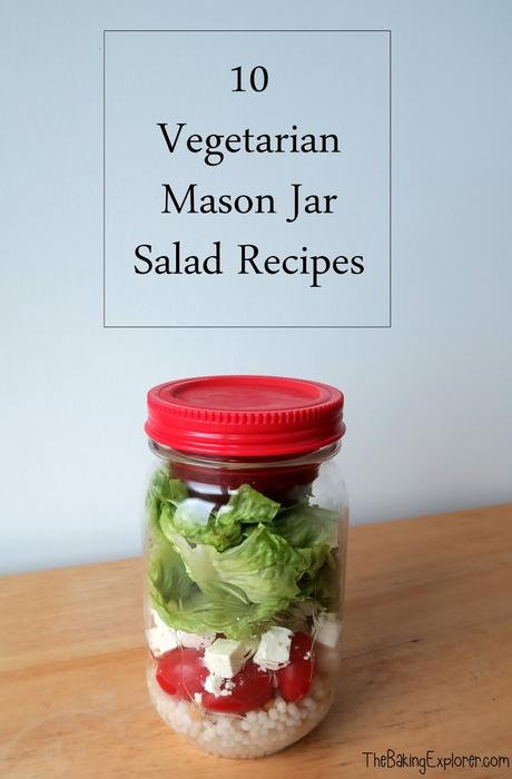 10 Vegetarian Mason Jar Salad Recipes