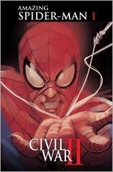 Civil War II: Amazing Spider-Man #1 Cover - Noto Variant