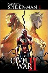 Civil War II: Amazing Spider-Man #1 Cover