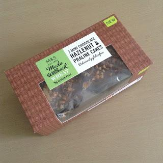 marks and spencer gluten free chocolate hazelnut praline cakes