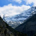 View into the direction of the Jungfrau