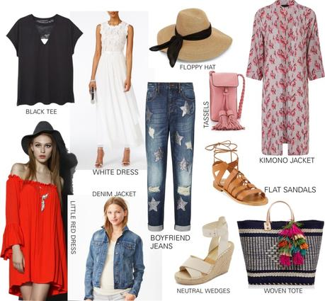 TEN ESSENTIALS TO PACK FOR A WEEKEND TRIP