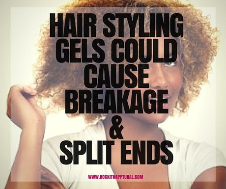 Here's Why Hair Styling Gels Can Cause Breakage & Split Ends