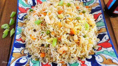 prawn-stir-fried-rice-easy-recipe-one-pot-meal-Chinese-healthy-recipe-