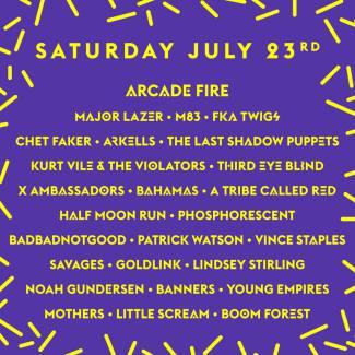 WayHome 2016 Daily Lineup Announcement!