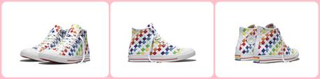 Converse Unveils Their Pride Collection Inspired By Their LGBTA Fans
