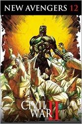 New Avengers #12 Cover - Cowan Black Panther 50th Anniversary Variant