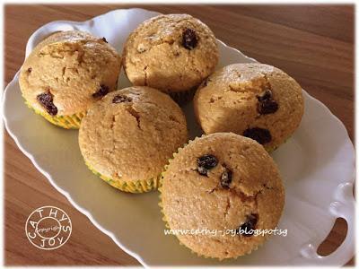 Corn Raisins Muffins