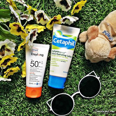 My 2 Must-Have Essentials: Cetaphil DailyAdvance Ultra Hydrating Lotion & Daylong SPF 50+ Gel