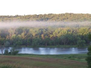 Photo of the area of NE Nebraska around the Niobrara, Verdigre and Elkhorn Rivers where there have been numerous wolverine sightings. That is probably the Verdigre River in the foreground.