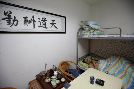 China's tech work culture is so intense that people sleep and bathe in their offices