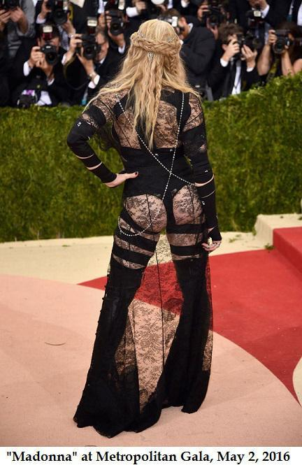 Madonna at 2016 Metropolitan Gala