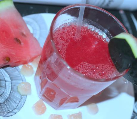 Quick Watermelon Summer Drink By A Working Mom
