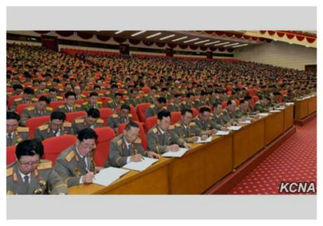 7th Party Congress participants attend a workshop following up on the ideological and policy lines adopted at the 7th Party Congress on May 11, 2016 (Photo: KCNA).